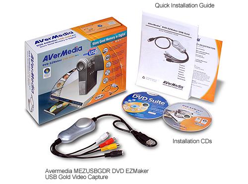 Avermedia c038 usb capture card