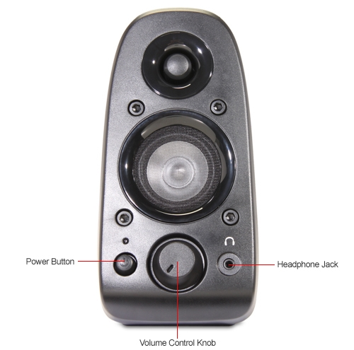 Logitech Z506 5 1 Surround Sound Speakers: 980-000430 at