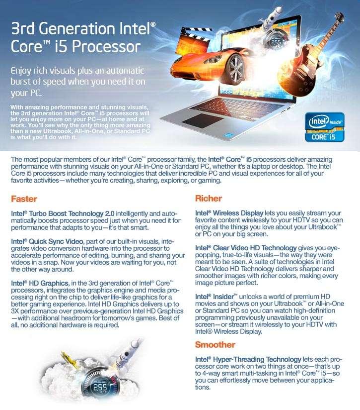 Intel 3rd Gen Core i5 CPU