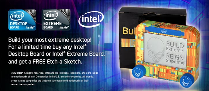Intel Etch-A-Sketch Promotion