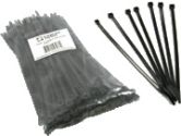 Cables To Go CABLES UNLIMITED CABLES UNLIMITED  11.5IN BLK CBL TIES 100PK- zip-n-snip (Cables to Go: 43039)