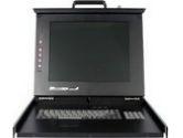 """StarTech RACKCONS1501 1U 15"""" Folding Rackmount LCD Console (StarTech.com: RACKCONS1501)"""