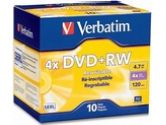 Verbatim DataLifePlus 4.7GB 4X DVD+RW 10 Packs Disc Model 94839 (Verbatim: 94839)