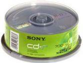 Sony CD-R (80min) - 5 Pack (Sony: 5CDQ80L3)