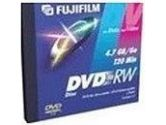 Fuji DVD-RW Disc for Data and Video 4.7 GB/120 Minutes 5-Pack (Fujifilm: 200332)