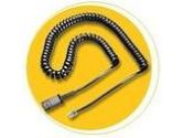 PLANTRONICS 40702-01 Coil Cable (Quick Disconnect to Modular Phone Jack) (Plantronics: 40702-01)
