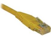 Tripp Lite Cat5e 350MHz Yellow Patch Cable RJ45M/M - 25' (TRIPP LITE: N002-025-YW)
