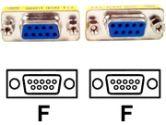 StarTech GC9SF Slimline DB9 Serial Gender Changer - F/F (StarTech.com: GC9SF)