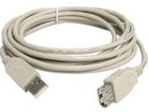 StarTech 10 ft. USB 2.0 Extension Cable A to A - M/F (StarTech.com: USBEXTAA10)