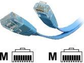 StarTech.com 10 ft Blue Flat Cat 5e Patch Cable (STARTECH.COM: FLAT45BL10)