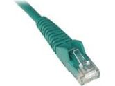 Tripp Lite 10 ft Cat6 Gigabit Green Snagless Patch Cable RJ45 (Tripp Lite: N201-010-GN)