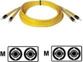 Tripp Lite 2M Singlemode Duplex Fiber Optic ST/ST Patch Cable (Tripp Lite: N352-02M)