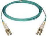 Tripp Lite 3 meter Duplex Multimode 50/125 Aqua Fiber Patch Cable LC/LC (Tripp Lite: N820-03M)