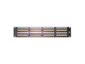 StarTech.com 48PORT Professional WALLMOUNT CAT5 Patch Panel 110 Type 568A/B (StarTech.com: PANEL4548)