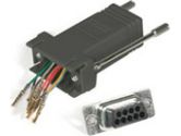 Cables Unlimited Cables To Go Cables To Go  MOD ADPT RJ45/DB9F BLK (CABLES TO GO: 02943)