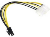 Cables Unlimited Cables To Go Cables To Go  10IN CBL PWR ADPT INT 4-PIN TO PCI EXPRS POWER (Cables to Go: 35522)