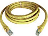 TRIPP LITE N201-005-YW 5 ft. Cat6 Gigabit Snagless Patch Cable (Tripp Lite: N201-005-YW)