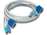 TRENDnet 15 ft. KVM Cable (male-to-male) (TRENDnet: TK-C15)