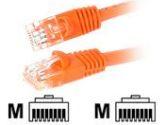 StarTech.com STARTECH STARTECH  Crossover Patch Cable - RJ-45 (M) - RJ-45 (M) - UTP - Cat.5e - 6 ft - Orange (StarTech.com: 45CROSS6OR)