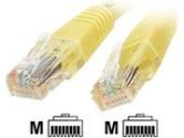 StarTech.com STARTECH STARTECH  STARTECH 50-FOOT YELLOW MOLDED CAT6 PATCH CABLE (StarTech.com: C6PATCH50YL)