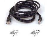 BELKIN CABLES BELKIN CABLES  20FT BLACK CAT5E PATCH CBL (Belkin Components: A3L791-20-BLK)