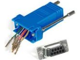 Cables Unlimited Cables To Go Cables To Go  MOD ADPT RJ45F TO DB9F BLUE (AVERY: 02942)