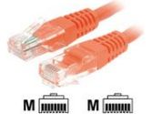 StarTech.com STARTECH STARTECH  35 ft. Orange Molded Cat. 5e 350 MHz UTP Patch Cable (STARTECH.COM: M45PATCH35OR)