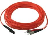 Cables To Go 1-Meter Multimode MTRJ/SC Duplex Patch Cable with Clips (Cables to Go: 33145)
