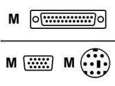 Avocent Sun Keyboard, Sun Mouse & VGA Video - 4 feet (Avocent: CVSN-4)