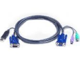 ATEN PS/2 to USB Intelligent KVM Cable 20' (ATEN: 2L5506UP)