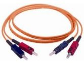 Cables To Go CABLES UNLIMITED CABLES UNLIMITED  15M SC SC DUPLEX 62/125 MULTIMODE FIBER (CABLES TO GO: 09168)