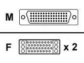 APC (American Power Conversion) APC  10FT CISCO LFH60M/V.35F DCE Y (APC: 36155-10)