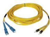 TRIPP LITE TRIPP LITE  Patch Cable - ST - Male - SC - Male - 15 M - Fiber optic - Yellow (Tripp Lite: N354-15M)