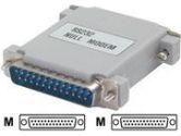 StarTech.com STARTECH STARTECH  Null Modem Adapter - DB-25  - DB-25  (StarTech.com: NM25MM)