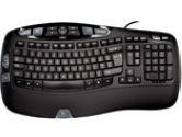 Logitech Black Wired Keyboard Bil (Logitech: 920-000326)