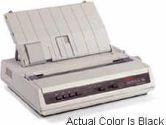 OKI Printing Solutions MICROLINE 186 9-Pin Dot Matrix Printer Serial/USB 120V (OKI: 62426801)