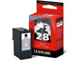 Lexmark #28 Black Ink Cartridge (Lexmark: 18C1428)