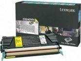 LEXMARK C5240YH High Yield Return Program Toner Cartridge (Lexmark International: C5240YH)