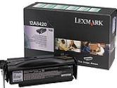 LEXMARK 12A8420 Return Program, Toner Cartridge (Lexmark International: 12A8420)