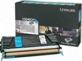 Lexmark CYAN HIGH YIELD RETURN PRG TONER CART FOR C524 (Lexmark International: C5240CH)
