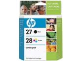 HP HP 27/28 Black And Color Ink Cartridge Combo Pack (Hewlett-Packard: C9323FC#140)