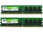 Corsair 512MB PC4200 DDR2 DIMM Memory (Corsair Microsystems: VS512MBKIT533D2)