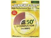 Cables Unlimited 50' 14-AWG SuperFlat Speaker Wire (Cables Unlimited: AUD-5410-50)