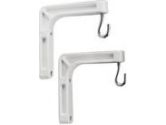 "InFocus Wall Mount Extension Brackets, White, 6""/15cm (InFocus: SC-WALLBRACK-01)"