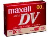 Maxell - Mini DV tape - 1 x 60min - Metal BIAS (Maxell: 298010)