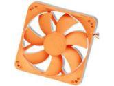 Nexus 120MM Real Silent Case Fan Orange 1000RPM 22.8DBA 36.87CFM 3/4PIN (NEXUS TECHNOLOGY: 120MM)