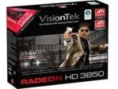 Visiontek Radeon HD 3850 256MB GDDR3 PCI-E Dual DVI-I HDCP HDMI HDTV Out Video Card (VisionTek: 900203)