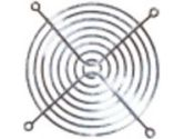 nGear 120MM Chromed WIRE-FORMED Fan Grill (NGEAR TECHNOLOGIES INC.: 120MM CHROME GRILL)