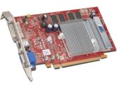 HIS Radeon X1050 HyperMemory / 256MB DDR / Supporting 1GB with HyperMemory / PCI Express / DVI / VGA / TV Out / Video Card (HIS - Hightech Information System Limited: H105HMH256RN-R)