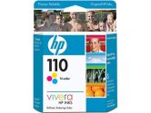 HP 110 Color Ink Cartridge (HP/Compaq CA: CB304AC)